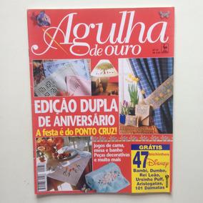 Revista Agulha De Ouro Ponto Cruz Jogos De Cama Mesa N°37