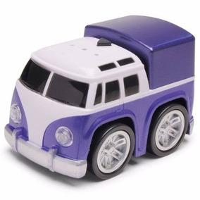 Carrinho Mini Turbo - Kombi Azul - Dtc