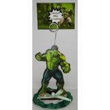 20 Souvenirs + Central El Increible Hulk Personalizados