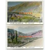 2 Antiguas Postales Quebrada Los Hornillos Humahuaca Jujuy
