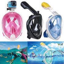Copozz Visor Para Snorkel Con Adaptador Go Pro Mascara