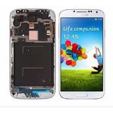 Tela Frontal Samsung Galaxy S4 4g/gt-i9505/9515 Branco/azul