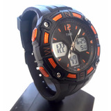 Reloj Deportivo Dual Time Force 9006 Alarma Crono 24hs Light