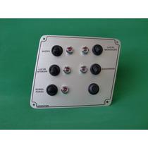 Painel De Comando Em Aluminio Com 5 Funções/barcos/lanchas