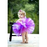Tutu Bailarina Princesa Balet, Con Corona O Vincha Tejida