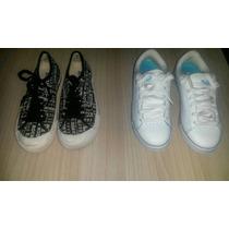 Zapato Roxy De Dama Blanco Deportivo Original