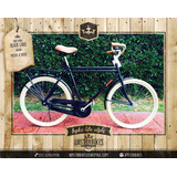 Bicicleta Himbre Inglesa Doble Caño Retro Clasica Premium