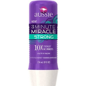 Máscara 3 Minute Miracle Strong 236ml Aussie