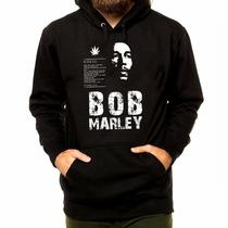 Blusa Casaco Moletom Bob Marley