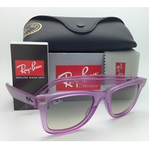 Ray Ban Wayfarer Ice Pop Grape Nuevos Originales