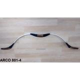 Kit Arco +4 Flecha Artesanal Nylon Reforçado Madeira E Fibra