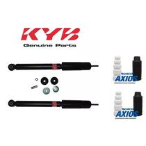 Par Amortecedor Traseiro Kayaba + Kits Honda Fit 2003 A 2008
