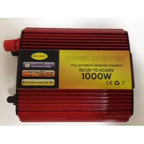 Inversor 1000w 12v P/ 110v Ou 220v Motores Leves E Resistivo