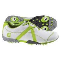 Footjoy 2013 Zapatos M Proyecto De Golf Blanco-cal Ancha 9.