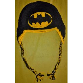 Gorros Batman - Spiderman O Zombie Tejido Al Crochet