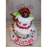 Torta Vaquita De San Antonio Ladybug