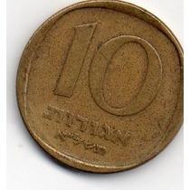 Moeda Israel 10 Agorot Lt 1878