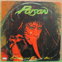 Lp Poison Lp Open Up And Say......ahh Lp Exx Capa Vg