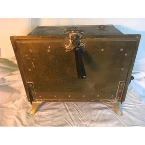 Antigua Esterilizadora Eléctrica De Bronce Y Cobre