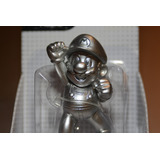 Mini Figura Mario Plateado World Of Nintendo