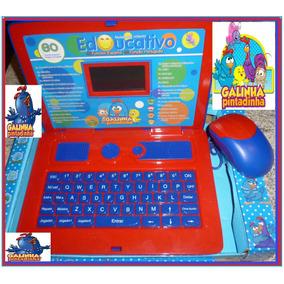 Laptop Infantil Tablet Notebook Galinha Pintadinha Educativo