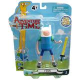 Hora De Aventura : Figura Finn C/ Accesorios - Minijuegos