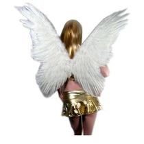 Disfraz Niña Sacasusa (tm) De Super Large White Mariposa De