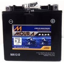 Bateria Moura Original Ma12-dharley Davidson Iron 883 1200