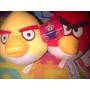 Peluche De Angri Bird Rojo Amarillo