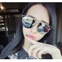 Óculos De Sol Espelhado Feminina Coleção Nova Proteção 400uv