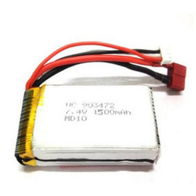 Peça Reposição Bateria 1500 Mah 2s 7.4v Carro Rc Wltoys L969