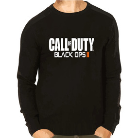 Blusa Moleton Call Of Duty Black Ops 2 Preto