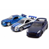 Autos Rapido Y Furioso Set De 3 Pzas, Toreto & Bryan!!