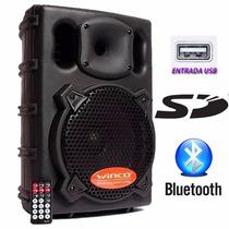 Bafle Parlante Winco Usb Dj Bluetooth Potencia 400w Karaoke