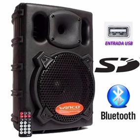Bafle Parlante Winco Usb Dj Bluetooth Potencia 300w Karaoke