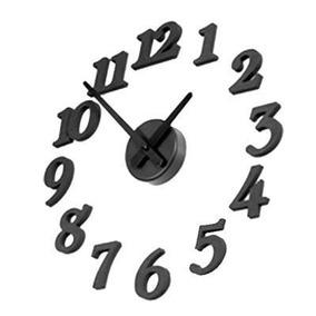 Contemporánea Bricolaje Auto-adhesivo Del Reloj De Pared In