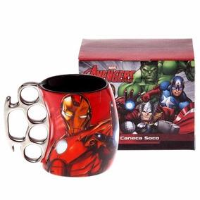 Caneca Soco-inglês - Marvel Avengers Homem De Ferro 10020479