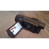 Camara Sony Fdr-ax100 4k Ultra Hd.