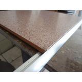 Perfil Platina Bordes De Aluminio Natural Para Ceramica