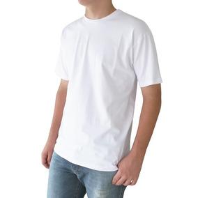Camiseta Branca Malha Fria Pv Lisa P/ Estampa Sublimação Etc