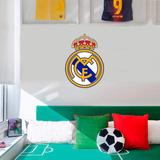 Adesivo De Parede - Time - Real Madrid G 50x69,5 Cm