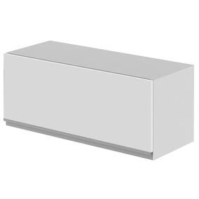 Armário Baixo Simples 60cm 1 Porta Glamy Madesa Branco