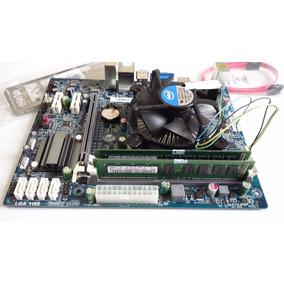 Kit Placa Mãe, Processador Intel I5 1155 3.1ghz 2gb Ddr3 Oem