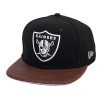 Boné New Era Snapback Original Fit Oakland Raiders Athlete