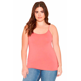 Musculosa Básica Forever 21 Talle Especial