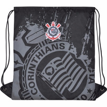 Mochila Saco Corinthians Masculina Escolar Time Futebol 6634