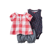 Set De 2 Conjuntos Carters New Born Niña