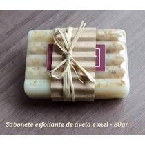 7 Sabonetes Em Barra Artesanal/ Esfoliantes