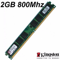 Memoria Pc Ddr2 2g/800 Pc6400 Kingston 0057