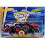 Hot Wheels Monster Jam Capitan America Vs Iron Man. Mattel